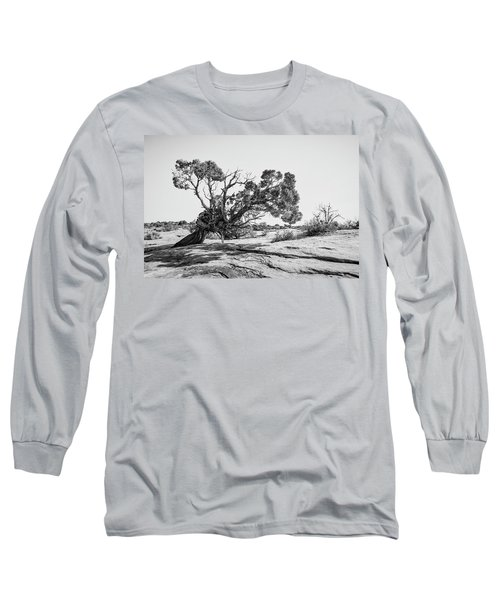 Long Sleeve T-Shirt featuring the photograph Will To Survive by Andy Crawford