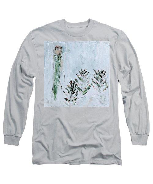Winter Angel Long Sleeve T-Shirt