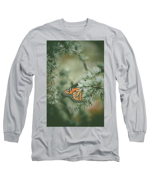 Winter Monarch Long Sleeve T-Shirt