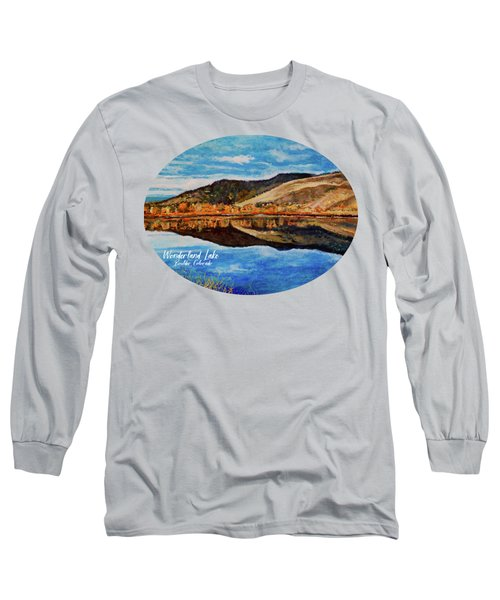Wonderland Lake Long Sleeve T-Shirt