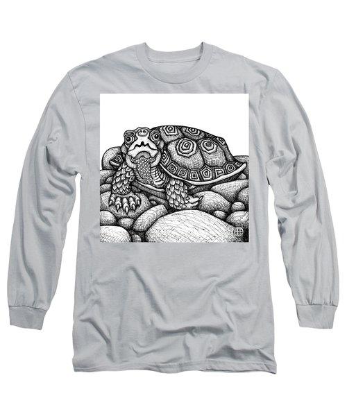 Wood Turtle Long Sleeve T-Shirt
