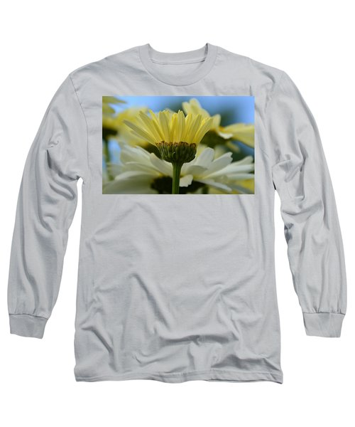 Yellow Daisy Long Sleeve T-Shirt
