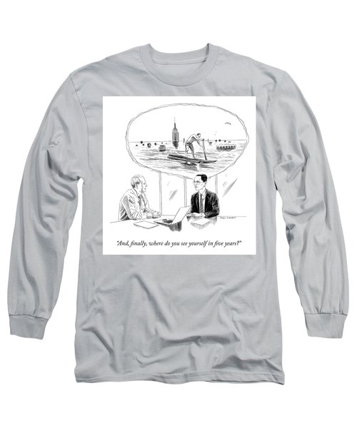 Yourself In Five Years Long Sleeve T-Shirt