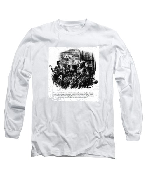 . . . Atter W'ile De Roof Sorter 'gun Ter Leak Long Sleeve T-Shirt