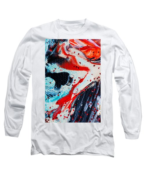 Abstract Original Artwork One Hundred Phoenixes Untitled Number Fifteen Long Sleeve T-Shirt