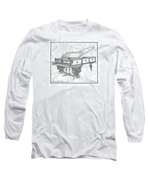 Bosendorfer Centennial Grand Piano Long Sleeve T-Shirt by Ira Shander