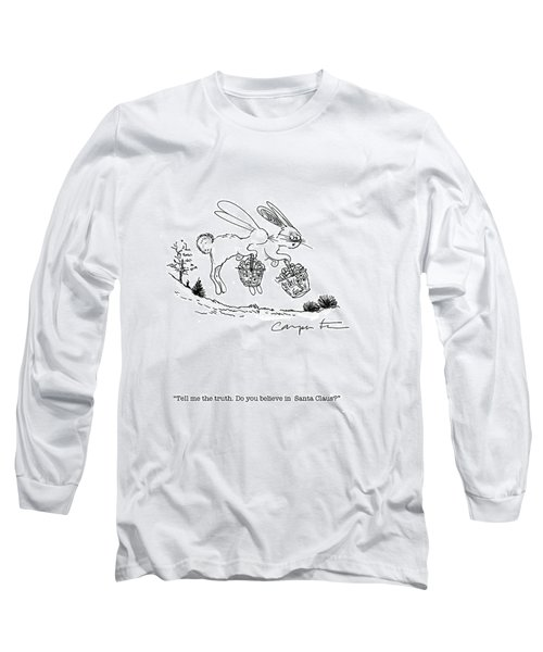 Easter Bunny Truth  Long Sleeve T-Shirt