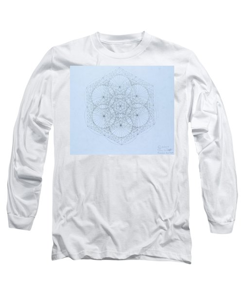 Quantum Snowflake Long Sleeve T-Shirt