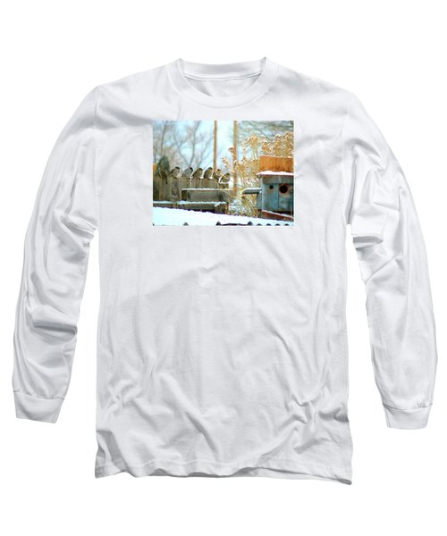 7 Winter Sparrows Long Sleeve T-Shirt