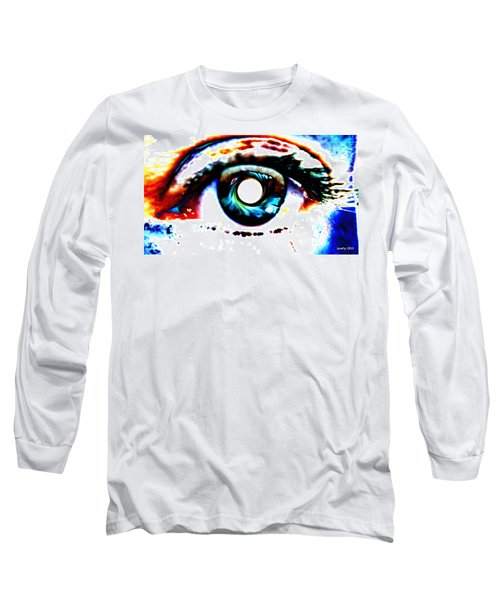 Travelling View  Through 26 Spacetime Dimensions In The Bosonic String Long Sleeve T-Shirt