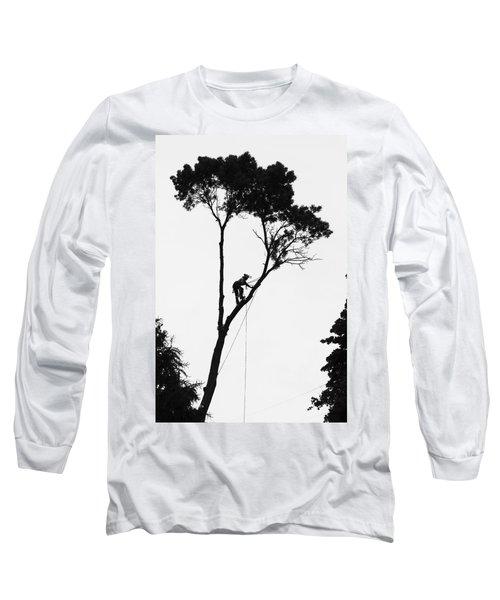 Arborist At Work Long Sleeve T-Shirt