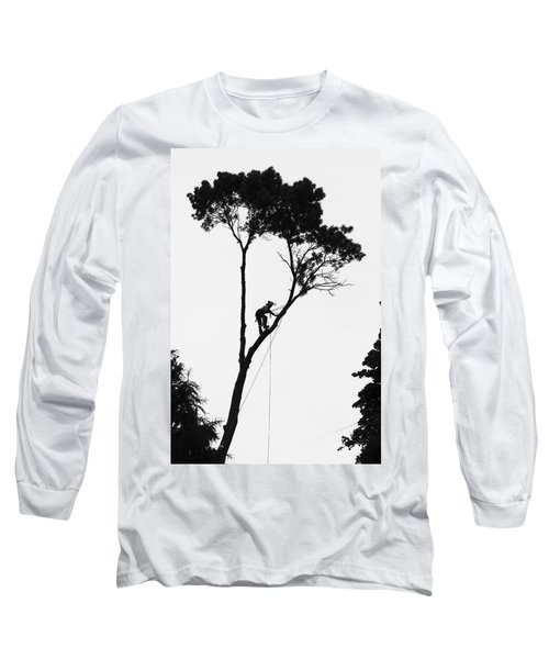 Arborist At Work Long Sleeve T-Shirt