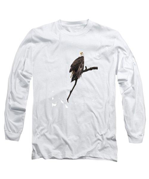 Bald Eagle 5 Long Sleeve T-Shirt by David Lester