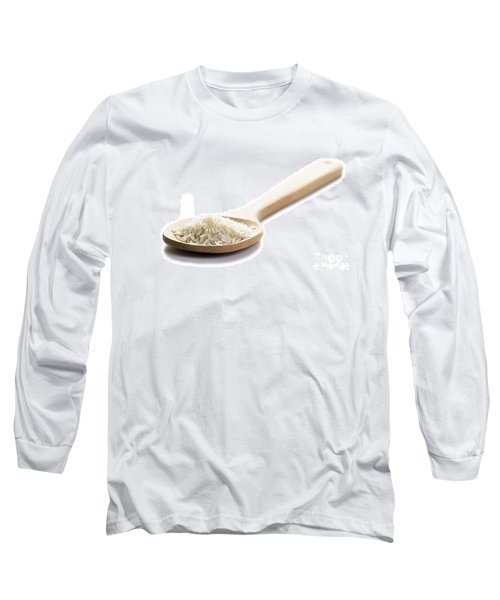 Long Sleeve T-Shirt featuring the photograph Basmati Rice by Lee Avison