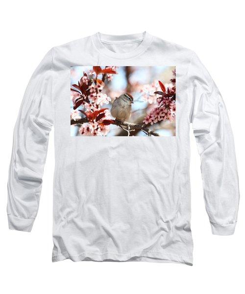 Beautiful Sparrow Long Sleeve T-Shirt