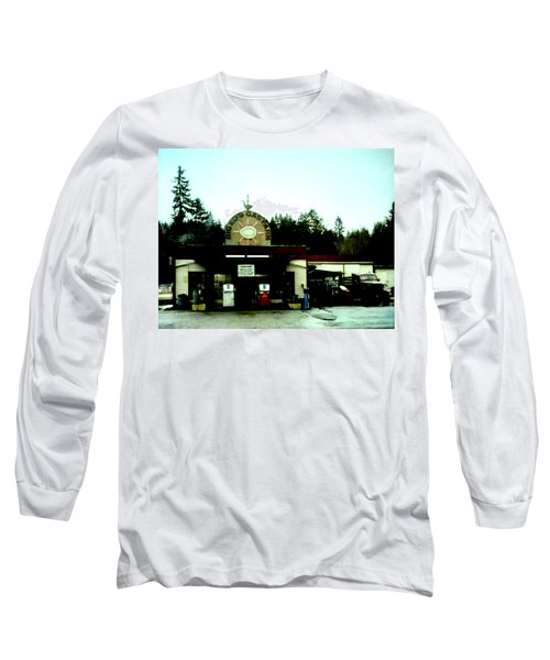 Long Sleeve T-Shirt featuring the painting Big Eds by Luis Ludzska