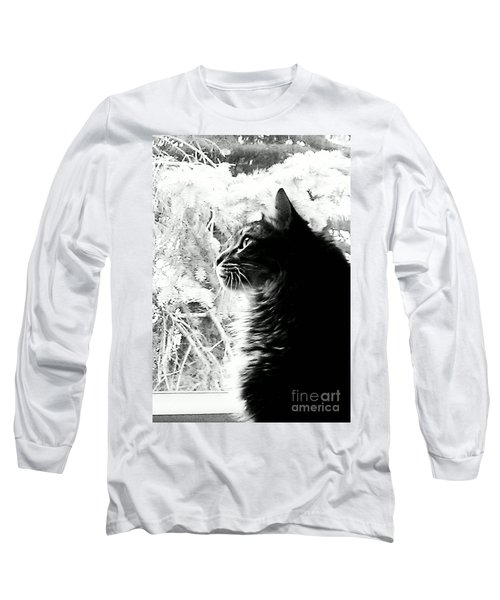 Long Sleeve T-Shirt featuring the photograph Bo by Jacqueline McReynolds