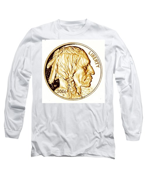 Buffalo Nickel Long Sleeve T-Shirt
