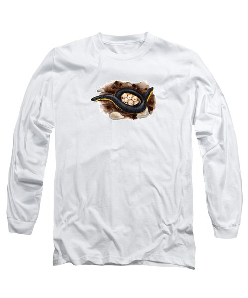 Caecilian Long Sleeve T-Shirt by Cindy Hitchcock