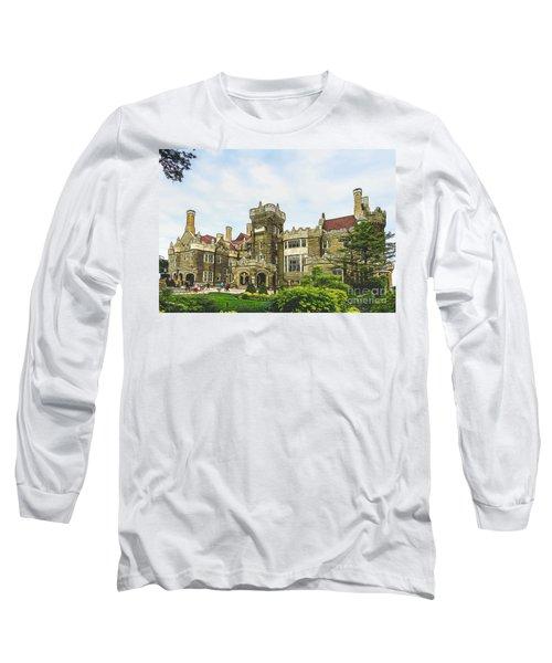 Casa Loma In Toronto Long Sleeve T-Shirt