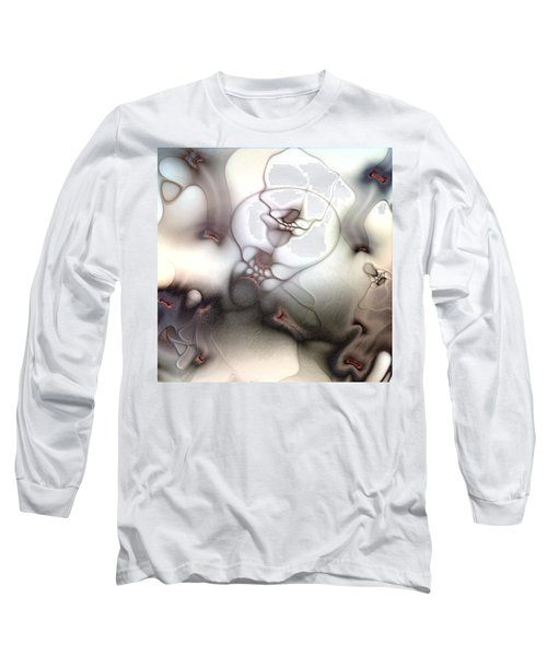 Long Sleeve T-Shirt featuring the digital art Ceaseless Vicissitude by Casey Kotas