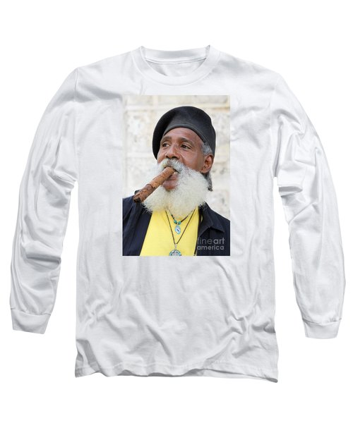 Cigar Man Long Sleeve T-Shirt