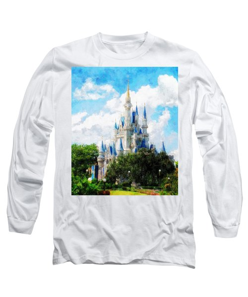 Cinderella Castle Long Sleeve T-Shirt