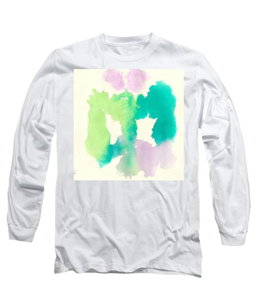 Long Sleeve T-Shirt featuring the painting Cocoon by Frank Bright