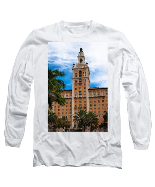 Coral Gables Biltmore Hotel Long Sleeve T-Shirt by Ed Gleichman