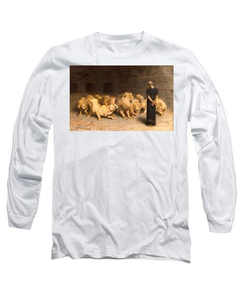 Daniel In The Lions' Den Long Sleeve T-Shirt