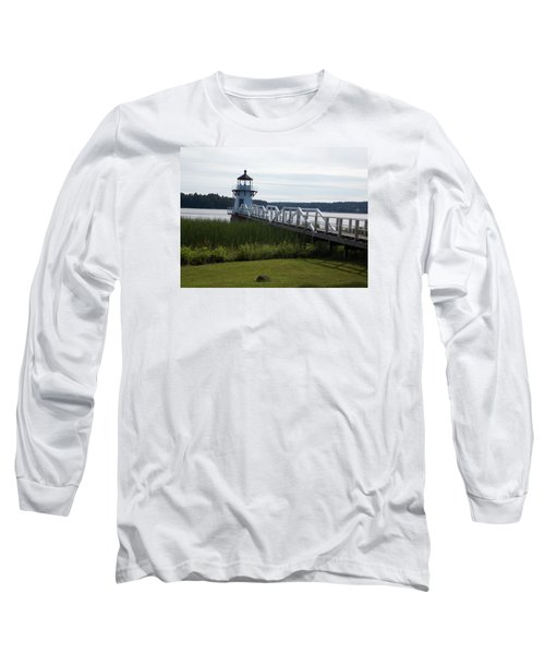 Doubling Point Lighthouse Long Sleeve T-Shirt by Catherine Gagne