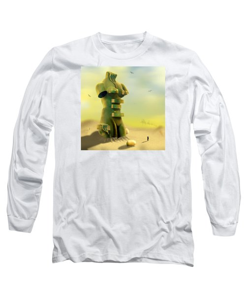 Drawers Long Sleeve T-Shirt by Mike McGlothlen
