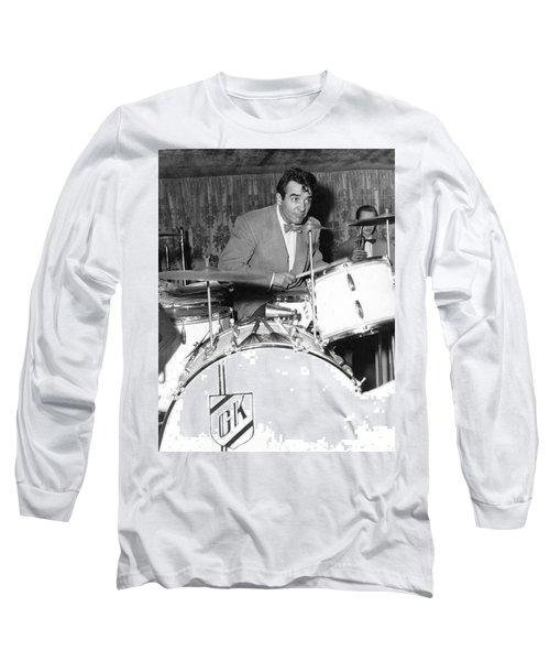 Drummer Gene Krupa Long Sleeve T-Shirt