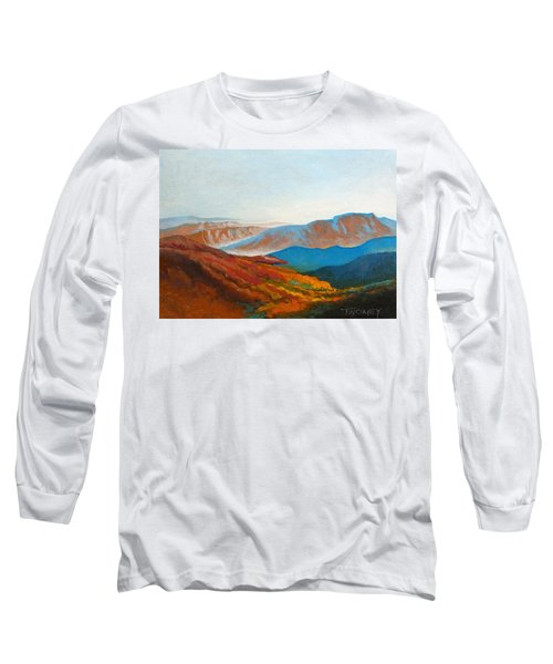 East Fall Blue Ridge Mountains 2 Long Sleeve T-Shirt by Catherine Twomey