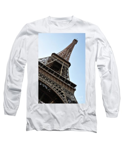 Long Sleeve T-Shirt featuring the photograph Eiffel Tower by Joe  Ng