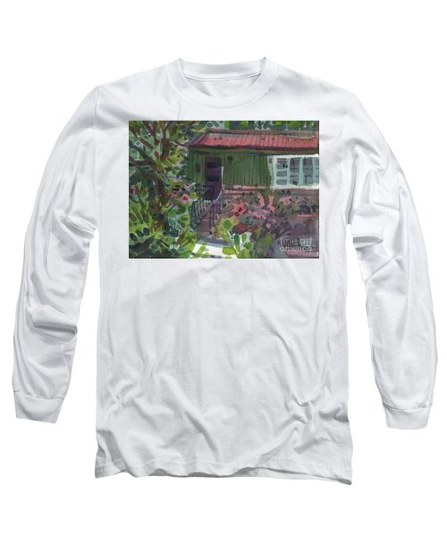 Long Sleeve T-Shirt featuring the painting Entrance by Donald Maier