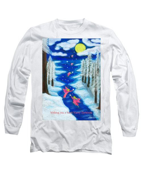 Faery Merry Christmas Long Sleeve T-Shirt