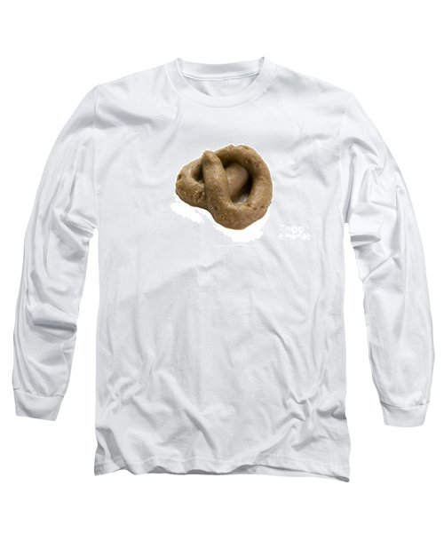 Long Sleeve T-Shirt featuring the photograph Fake Dog Poop by Lee Avison