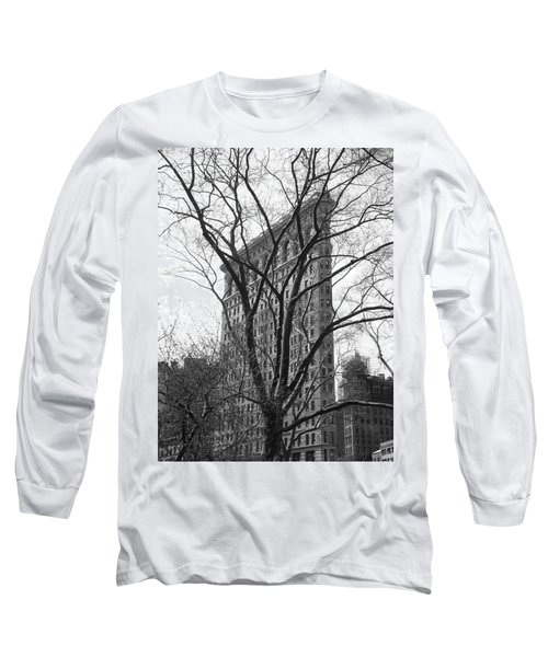 Flat Iron Tree Long Sleeve T-Shirt