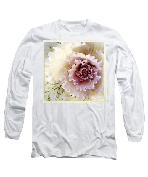 Flower Long Sleeve T-Shirt by Les Cunliffe
