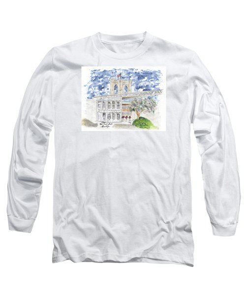 1 Front Street In Brooklyn Long Sleeve T-Shirt by AFineLyne