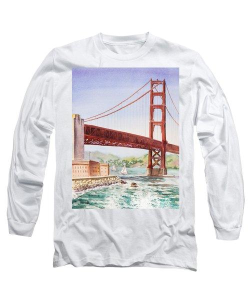 Golden Gate Bridge San Francisco Long Sleeve T-Shirt