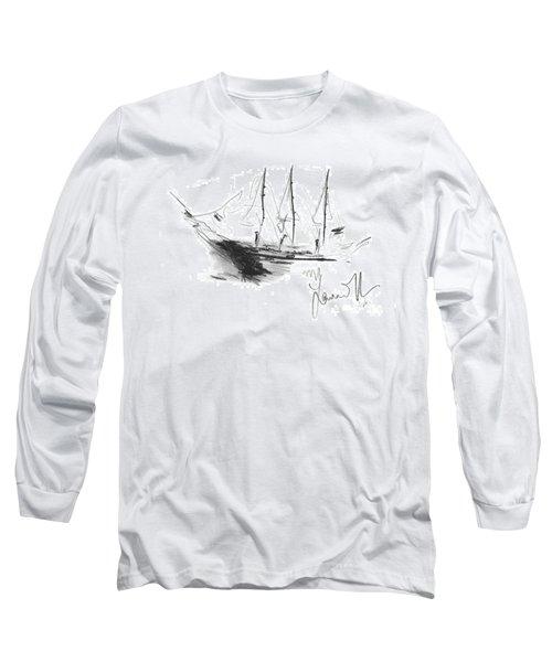 Great Men Sailing Long Sleeve T-Shirt