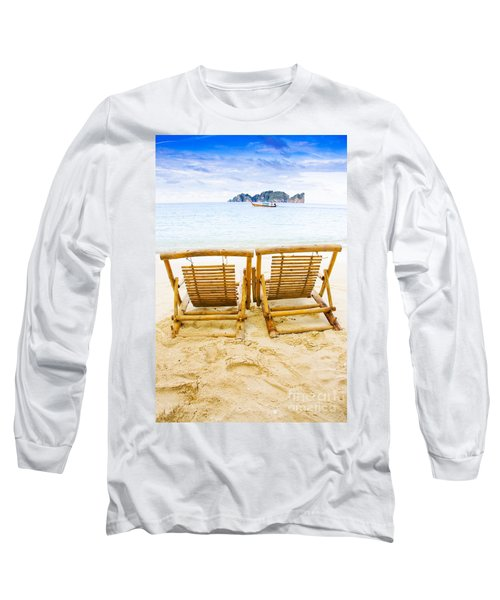 Holiday In Thai Paradise Long Sleeve T-Shirt