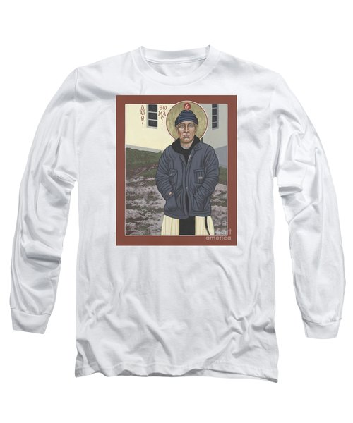 Holy World Evangelist Thomas Merton 267 Long Sleeve T-Shirt by William Hart McNichols