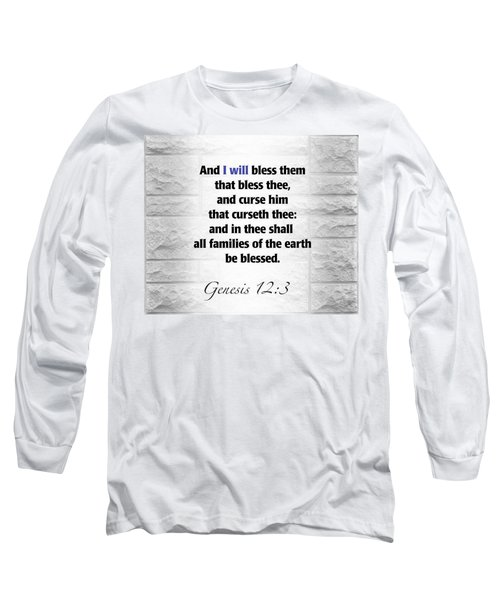 I Will Long Sleeve T-Shirt