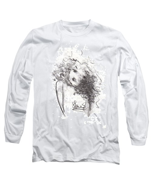 Just Me Long Sleeve T-Shirt by Laurie L
