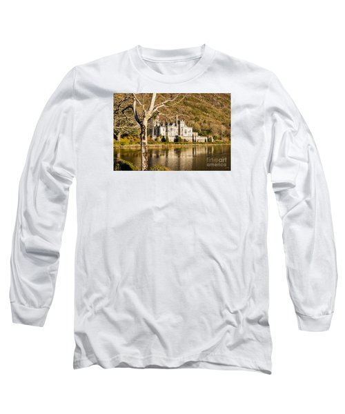 Kylemore Abbey In Winter Long Sleeve T-Shirt