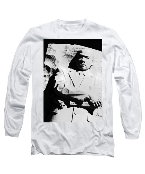 Long Sleeve T-Shirt featuring the photograph Martin Luther King Memorial by Cora Wandel