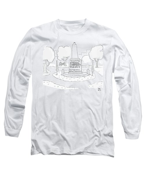 Monument Of The Eternal Conspiracy Theory Long Sleeve T-Shirt